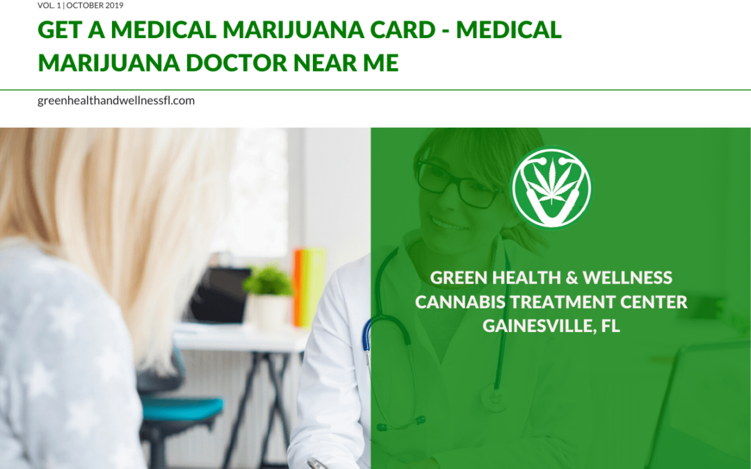 Get A Medical Marijuana Card | Marijuana Doctor Near Me